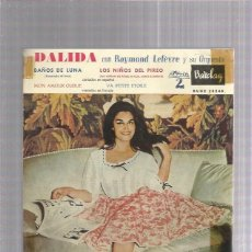 Discos de vinilo: DALIDA NIÑOS PIREO. Lote 253984245