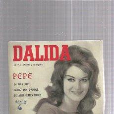 Discos de vinilo: DALIDA PEPE. Lote 253984675