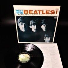 Discos de vinilo: THE BEATLES – MEET THE BEATLES! – RARE AND UNIQUE ITEM. Lote 253985095