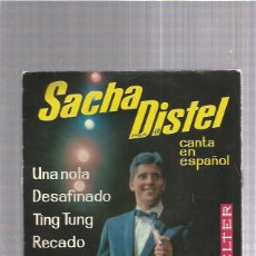 Discos de vinilo: SACHA DISTEL TING. Lote 253986010