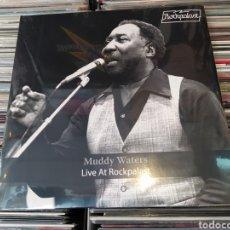 Discos de vinilo: MUDDY WATERS -LIVE AT ROCKPALAST. 2 × VINYL, LP, ALBUM, LIMITED EDITION. PRECINTADO. Lote 253989380