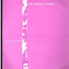 Discos de vinilo: STP TWENTYTHREE - LET JIMI TAKE OVER - MAXI SINGLE 1989 - ED. UK. Lote 253989775