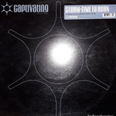 "Discos de vinilo: E.P. 12"" - STORM ""TIME TO BURN"" INC. REMIXES BY MAURO PICOTTO, GIZEH AND PASCAL FEOS (1999). Lote 253992760"