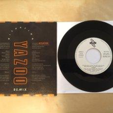"Discos de vinilo: YAZOO - SITUATION (REMIX) / STATE FARM - SINGLE 7"" - 1990 MUTE SPAIN. Lote 253994055"