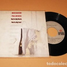 Discos de vinilo: MODERN TALKING - YOU'RE MY HEART, YOU'RE MY SOUL - SINGLE - 1985. Lote 253994115