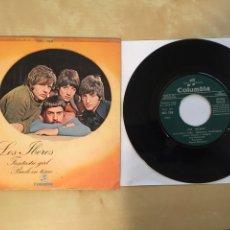 "Disques de vinyle: LOS IBEROS - FANTASTIC GIRL / BACK IN TIME - PROMO SINGLE RADIO 7"" - 1970. Lote 253996150"