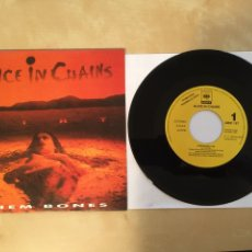 """Discos de vinilo: ALICE IN CHAINS - THEM BONES - PROMO SINGLE RADIO 7"""" - 1992. Lote 253998080"""
