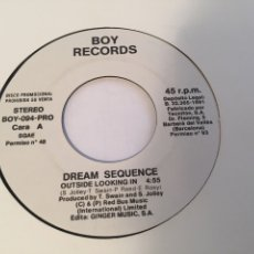 "Discos de vinilo: DREAM SEQUENCE - OUTSIDE LOOKING IN - PROMO SINGLE RADIO 7"" - 1991. Lote 253998770"