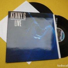 Discos de vinilo: 2X LP KENNY G - LIVE - SPAIN PRESS - ARISTA – 210318(5Z) (EX++/M-/M-). Lote 254003480