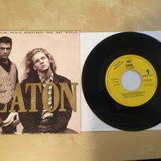 """Discos de vinilo: PLATON - MIRA QUE HAS HECHO DE MI VIDA - PROMO SINGLE RADIO 7"""" - 1992 SPAIN. Lote 254004070"""