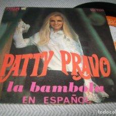 Discos de vinilo: PATTY BRAVO - LA BÁMBOLA .. EN ESPAÑOL .. SINGLE ESPAÑOL - RCA - BUEN ESTADO. Lote 254005240