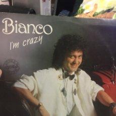 Discos de vinilo: BIANCO I,M CRAZY PROMO. BUENO ITALO. Lote 254007080
