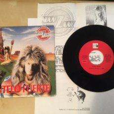 "Discos de vinilo: MANZANO - SIENTELO FUERTE (INCLUYE NOTA DE PRENSA) - PROMO RADIO SINGLE 7"" - 1988 SPAIN. Lote 254012790"
