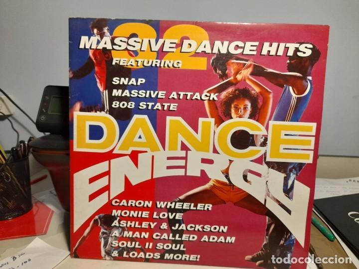DOBLE LP DANCE ENERGY ( ACID JAZZ, SOUL, HIP-HOP, DOWNTEMPO, FUNK) SNAP + ADAMSKI + DREAM WARRIORS (Música - Discos - LP Vinilo - Funk, Soul y Black Music)