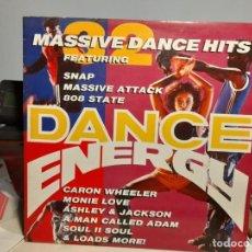Discos de vinilo: DOBLE LP DANCE ENERGY ( ACID JAZZ, SOUL, HIP-HOP, DOWNTEMPO, FUNK) SNAP + ADAMSKI + DREAM WARRIORS. Lote 254013235