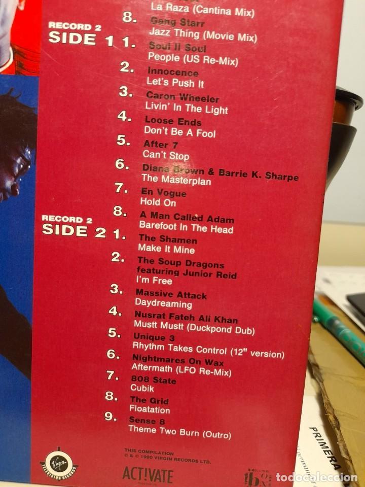 Discos de vinilo: DOBLE LP DANCE ENERGY ( Acid Jazz, Soul, Hip-Hop, Downtempo, Funk) SNAP + ADAMSKI + DREAM WARRIORS - Foto 3 - 254013235