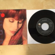 """Discos de vinilo: CHER - SAVE UP ALL YOUR TEARS - RADIO SINGLE 7"""" - 1991 SPAIN. Lote 254018020"""
