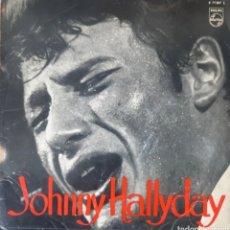 Discos de vinilo: MUY DIFICIL!!!. JOHNNY HALLYDAY. PHILIPS. 1962. ESPAÑA.. Lote 251430100