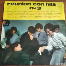 Discos de vinilo: VVAA - REUNIÓN CON HITS VOL. 3 ******* RARO LP PHILIPS ESPAÑA JOHNNY HALLYDAY. Lote 254024620