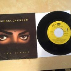 "Discos de vinilo: MICHAEL JACKSON - IN THE CLOSET - PROMO RADIO SINGLE 7"" - 1992 SPAIN. Lote 254026745"
