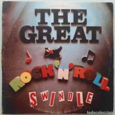 Disques de vinyle: SEX PISTOLS-THE GREAT ROCK´N´ROLL SWINDLE LP VINILO 1979. Lote 254031910