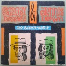Discos de vinilo: LP GREGORY ISAACS DENNIS BROWN NO CONTEST. Lote 254036390
