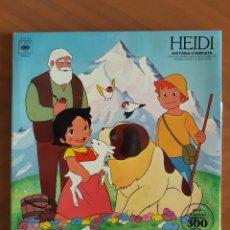Discos de vinilo: HEIDI HISTORIA COMPLETA. Lote 254044190