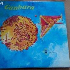 Discos de vinilo: GANBARA / BEHIN BATEAN LP FOLK PSYCH EDITADO POR SOÑUA 1982/ CON INSERT. Lote 254045180