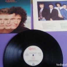 Discos de vinilo: QUEEN. THE MIRACLE. LP CON LETRAS 076 79 2357 1 EMI/PARLOPHONE 1989.1ª EDICION.SPAIN.FREDDIE MERCURY. Lote 254052470