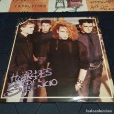 Discos de vinilo: HÉROES DEL SILENCIO - HÉROE DE LEYENDA - MINI LP - EDICIÓN ORIGINAL DE 1987 - FAMA.. Lote 254052475