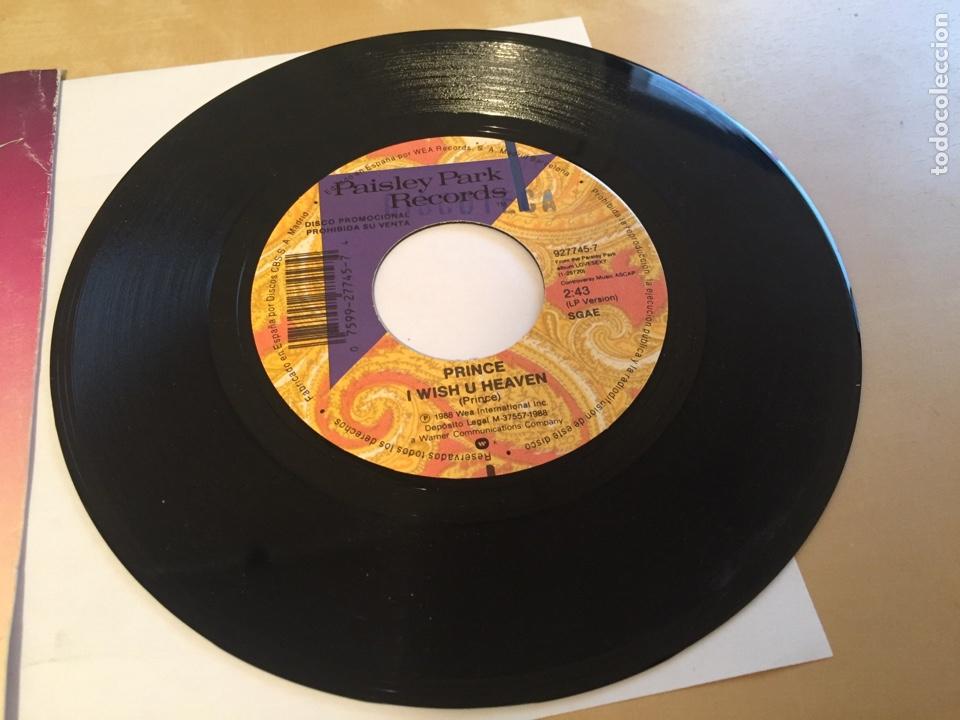 "Discos de vinilo: Prince - I Wish You Heaven - PROMO SINGLE RADIO 7"" - 1988 SPAIN - Foto 2 - 254054215"
