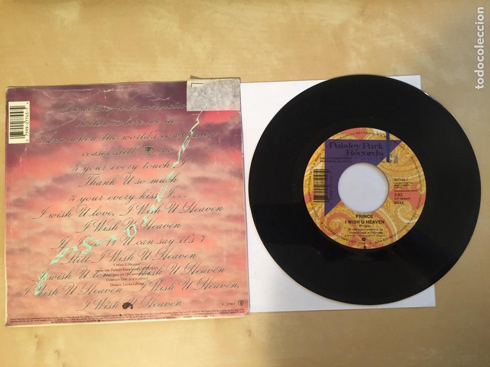 "Discos de vinilo: Prince - I Wish You Heaven - PROMO SINGLE RADIO 7"" - 1988 SPAIN - Foto 3 - 254054215"