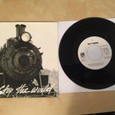 "Discos de vinilo: EXTREME - STOP THE WORLD - PROMO SINGLE RADIO 7"" - 1992. Lote 254060890"