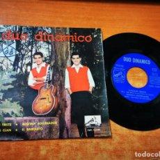 Discos de vinilo: DUO DINAMICO CANCION TRISTE / ADIVINA ADIVINADOR EP VINILO DEL AÑO 1963 ESPAÑA CONTIENE 4 TEMAS. Lote 254063760