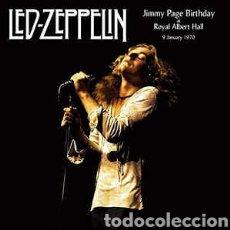 Discos de vinilo: LED ZEPPELIN - JIMMY PAGE BIRTHDAY AT THE ROYAL ALBERT HALL 9 JANUARY 1970-DOBLE LP VINILO NUEVO-. Lote 254063820