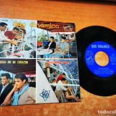 Discos de vinilo: DUO DINAMICO & LOS ANGELES NEGROS YO RECORDARE EP VINILO DEL AÑO 1964 ESPAÑA CONTIENE 4 TEMAS. Lote 254065115