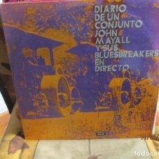 Discos de vinilo: JOHN MAYALL Y SUS BLUESBREAKERS* – DIARIO DE UN CONJUNTO - EN DIRECTO (DIARY OF A SET - LIVE). Lote 254066855