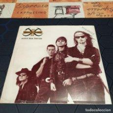 Discos de vinilo: HÉROES DEL SILENCIO - ENTRE DOS TIERRAS - MAXI ITALIANO - 1990.. Lote 254068810