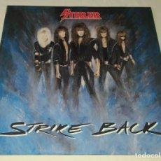 Discos de vinilo: LP STEELER - STRIKE BACK. Lote 254070100
