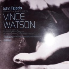 "Discos de vinilo: E.P. 12"" - JOHN TEJADA ""THE TOILING OF IDLE HANDS"" (REMIXED BY VINCE WATSON 2003). Lote 254072510"