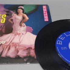 Discos de vinilo: LOLA FLORES (EP) EL ESCANDALO. Lote 254072530
