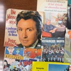 Discos de vinilo: LOTE 208 SINGLES Y 10 PORTADAS ALEMANES, AÑOS 70. Lote 254075990