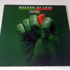 Discos de vinilo: LP PAGANINI - WEAPON OF LOVE. Lote 254078080