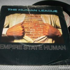 Discos de vinilo: THE HUMAN LEAGUE - EMPIRE ..SINGLE DE 1979 DE LO PRIMERO DEL GRUPO MUY RARO. Lote 254078725