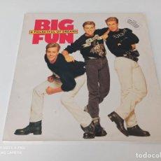 Discos de vinilo: BIG FUN - A POCKETFUL OF DREAMS (LP, ALBUM). Lote 254080155