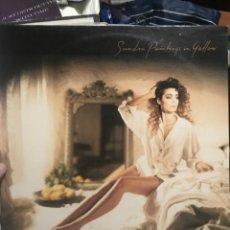 Discos de vinilo: SANDRA PAINTINGS IN YELLOW UNICO LP WEB VIRGIN 1990 ENCARTE LETRAS CANCIONES NUEVO. Lote 254088200