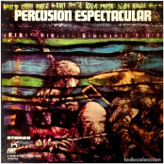 Discos de vinilo: SID COOPER AND ORCHESTRA ‎- PERCUSION ESPECTACULAR - LP SPAIN 1971 - AUDIO FIDELITY ‎AF-9042-GS. Lote 254090815