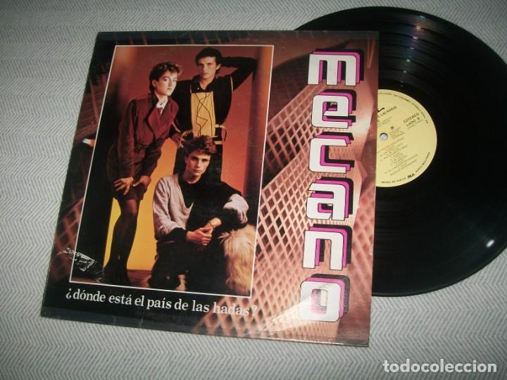 MECANO - DONDE ESTA EL PAIS DE LAS HADAS ..LP 1983 DE CBS - EDICION MEXICO - OKEH - MUY RARO (Música - Discos - LP Vinilo - Grupos Españoles de los 70 y 80)