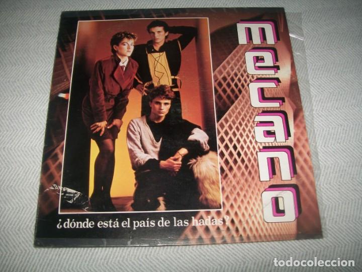 Discos de vinilo: MECANO - DONDE ESTA EL PAIS DE LAS HADAS ..LP 1983 DE CBS - EDICION MEXICO - OKEH - MUY RARO - Foto 2 - 254091915