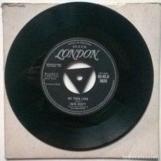 Discos de vinilo: JACK SCOTT. LEROY/ MY TRUE LOVE. LONDON, UK 1958 SINGLE. Lote 254096075
